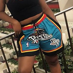 Just Don Piston basketball shorts